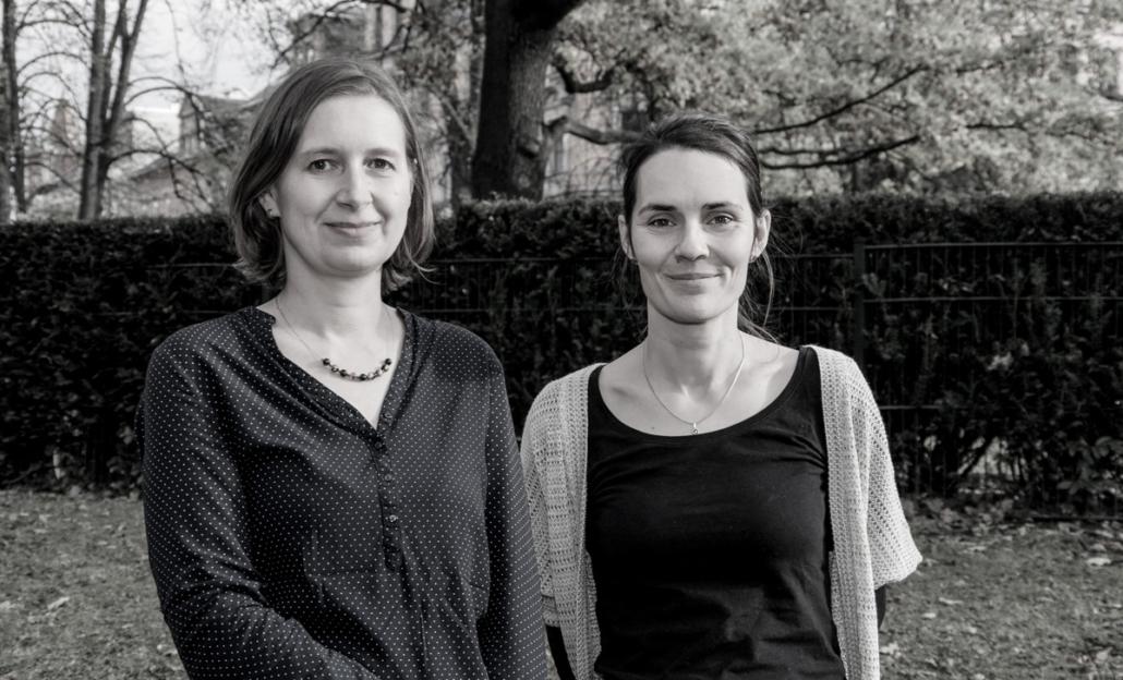 Corinne Jacob und Luise Bilz